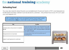 Load image into Gallery viewer, Food Safety and Hygiene in Catering (Level 2) Online Training screen shot 6