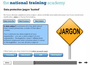 GDPR and Confidentiality Online Training - screen shot 3