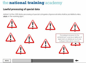 GDPR and Confidentiality Online Training - screen shot 6