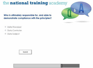 GDPR and Confidentiality Online Training - screen shot 7