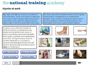 Health and Safety in the Workplace (Level 2) Online Training - screen shot 2