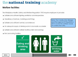 Health and Safety in the Workplace (Level 2) Online Training - screen shot 3