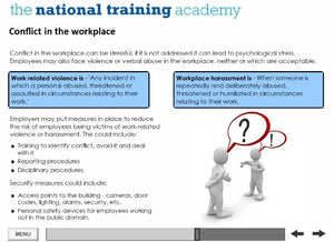 Health and Safety in the Workplace (Level 2) Online Training - screen shot 4