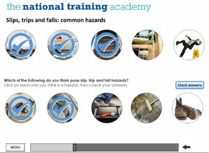 Health and Safety in the Workplace (Level 2) Online Training - screen shot 6