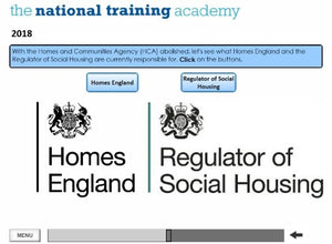 History of Social Housing in England Online Training - screen shot 6