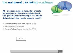 History of Social Housing in England Online Training - screen shot 7