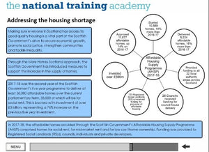 History of Social Housing in Scotland Online Training - screen shot 5