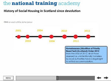 Load image into Gallery viewer, History of Social Housing in Scotland Online Training - screen shot 6
