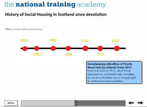 History of Social Housing in Scotland Online Training - screen shot 6
