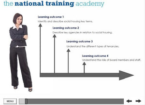 An introduction to social housing online training - Screen shot 1