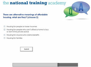 An introduction to social housing online training - Screen shot 8