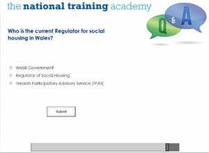 History of Social Housing in Wales Online Training - screen shot 7