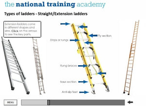 Ladder Safety Online Training - screen shot 4