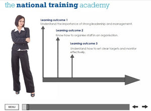 Leadership and Management Online Training screen shot 1