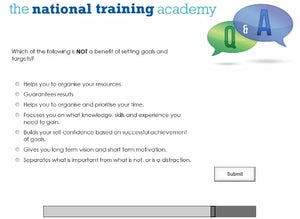 Leadership and Management Online Training screen shot 7