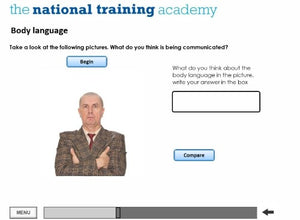 Lone Working Online Training screen shot 4