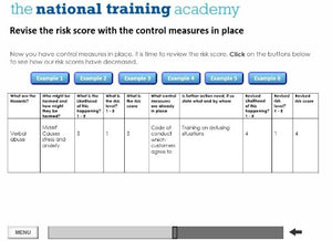 Lone Working Online Training screen shot 3