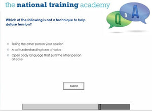 Lone Working Online Training screen shot 7