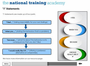 Managing conflict for staff training screen shot 4