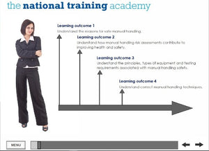 Manual Handling Online Training screen shot 1