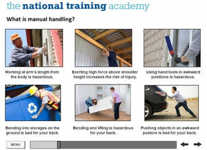 Manual Handling Online Training screen shot 3