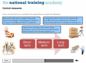 Manual Handling Online Training screen shot 5