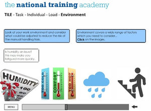 Manual Handling Online Training screen shot 6