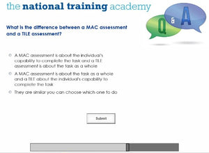 Manual Handling Online Training screen shot 7