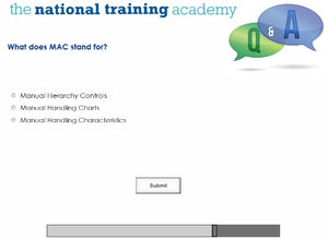 Manual Handling for Managers Online Training - screen shot 7