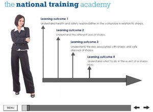 Needles and Sharps Training Online Training - screen shot 1