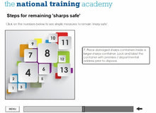 Load image into Gallery viewer, Needles and Sharps Training Online Training - screen shot 6
