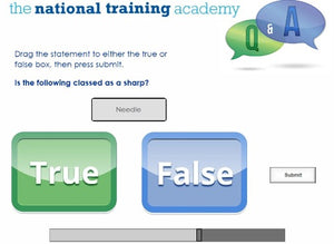 Needles and Sharps Training Online Training - screen shot 7