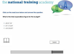 Organisational Finance for Community Groups Online Training screen shot 6