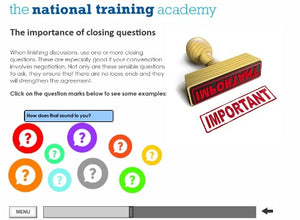 Role of a Management Committee Online Training screen shot 7