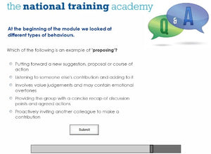 Role of a Management Committee Online Training screen shot 8