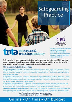safeguarding practice online training