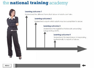 Safeguarding Adults (Level 2) Online Training - screen shot 1