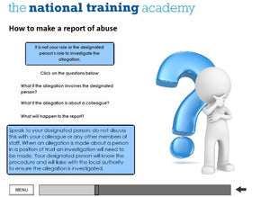 Safeguarding Adults (Level 2) Wales Online Training screen shot 6