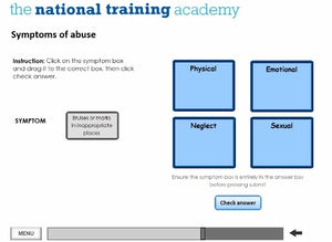 Safeguarding Children Awareness Level 1 Online Training screen shot 2