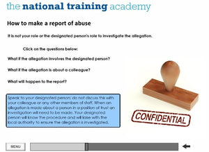 Safeguarding Children Awareness Level 1 Online Training screen shot 5