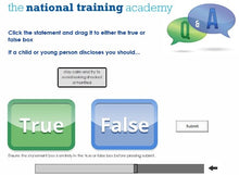 Load image into Gallery viewer, Safeguarding Children Awareness Level 1 Online Training screen shot 7