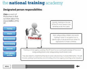 Safeguarding Designated Person Online Training (Wales) screen shot 3