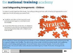 Safeguarding Designated Person Online Training (Wales) screen shot 6
