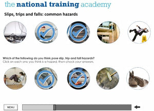 Slips, Trips and Falls Online Training screen shot 3