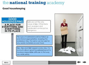 Slips, Trips and Falls Online Training screen shot 4