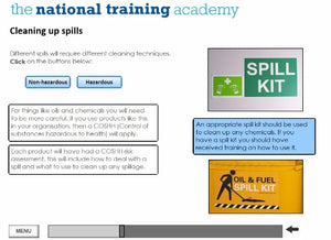 Slips, Trips and Falls Online Training screen shot 5