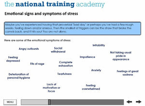 Stress Awareness for Managers Online Training - screen shot 6