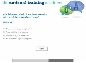 Stress Awareness for Managers Online Training - screen shot 7
