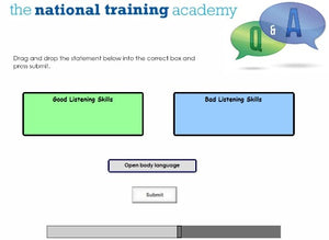 Support and Supervision of Staff Online Training screen shot 7
