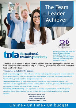 The Team Leader Achiever Online Training